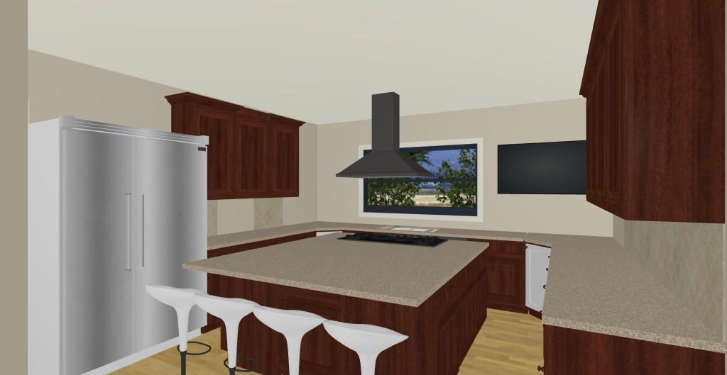 Model I kitchen