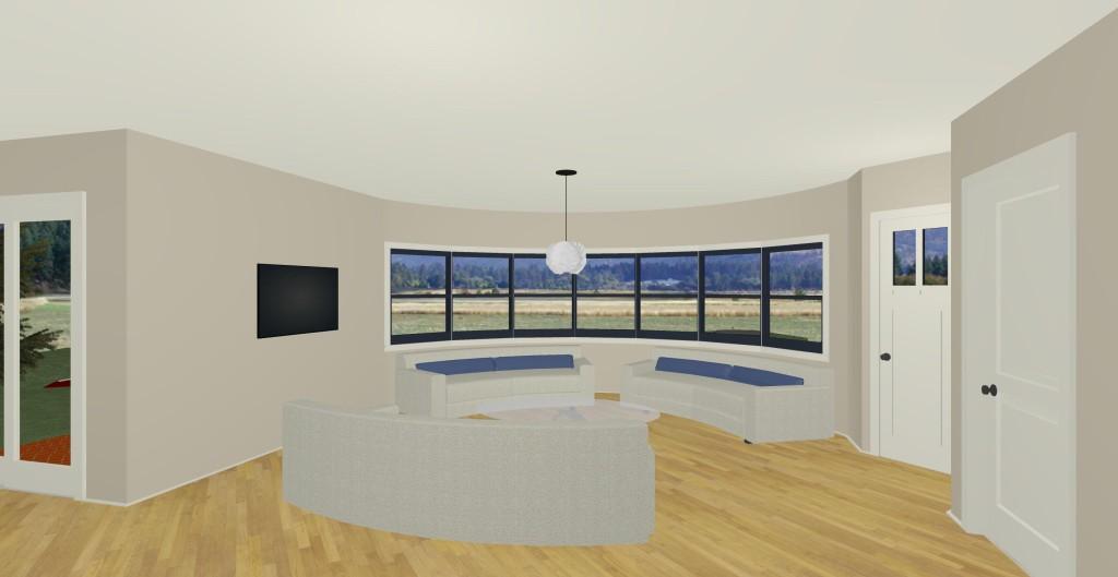 Model I living room